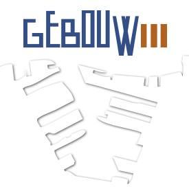 gebouw drie logo