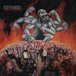 Album cover - Deformer - Counter Carnage