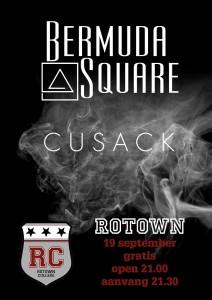 Rotown College zwarte postert