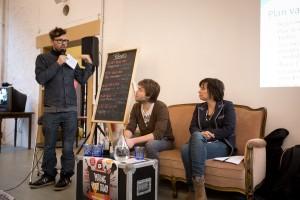 Het panel boekingen tijdens Making Your Band 2012