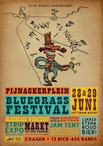 Pijnackerplein Bluegrass Festival poster