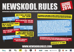 new skool WEB FLYER auditions NSR 2014