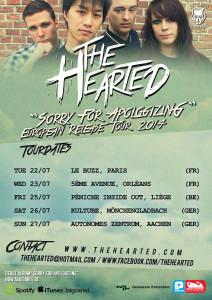 European Release Tour 2014 Poster