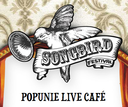 Songbird website popunie live cafe