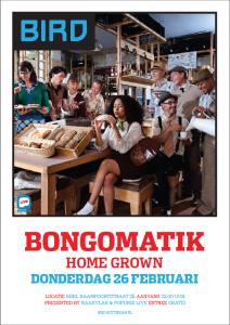 Poster Bongomatik BIRD