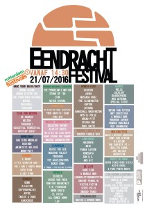 eendracht flyer alle bands