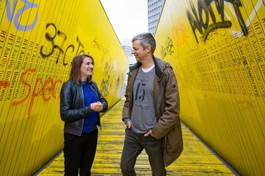 Marianne van der Velde en Martin Scheijgrond foto eric van nieuwland 123356 - kl