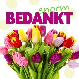 Afbeeldingsresultaat voor bloemetje bedankt